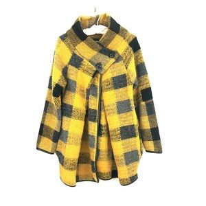 NWT Italian Wool Blend Coat